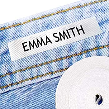 100 Personalized Iron-on Fabric Labels to Mark Your Clothes Gentle with Your Kids Skin for Children s School Uniform / Clothes / Clothing Labels for Kids Baby and Children.