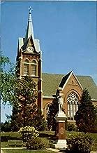 Swiss Evangelical & Reformed Church New Glarus, Wisconsin Original Vintage Postcard