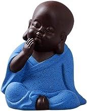 Sculpture Ornaments Buddha Statue, Little Monk, Home Decoration, Figurines, Miniatures, Ceramic Decorations, Statues, Scul...