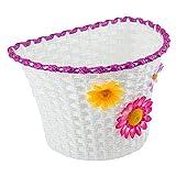 SUNLITE Classic Flower Basket, White