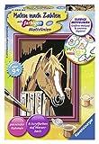 Ravensburger Malen nach Zahlen 29685 - Pferd im Stall - Kinder ab 9 Jahren -