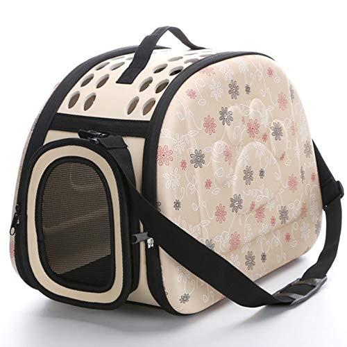 ChicSoleil Transporttasche Atmungsaktiv Transportbox Hundetasche für Tiere Katze Hunde Faltbare Haustier Tasche