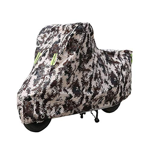 Teli per moto Compatibile con telo coprimoto Husqvarna CR65, telo coprimoto per protezione outdoor per tutte le stagioni, materiali compositi con rivestimento in PE resistente con fori di bloccaggio /