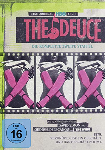 The Deuce - Die komplette zweite Staffel [Alemania] [DVD]