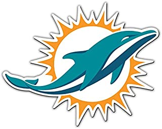 Rico Industries NFL Miami Dolphins NFL Team Magnet Sheet Blue 11 x 8.5 x 25