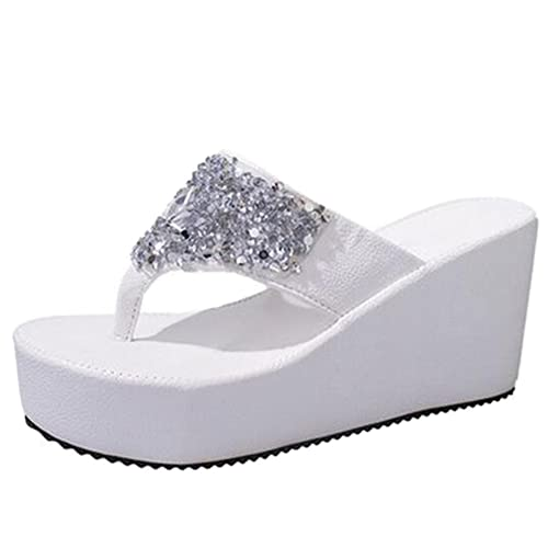 f4ced0373d6 COVOYYAR Women s Summer Beach Casual Thong Shoes Platform Sandals Flip Flops