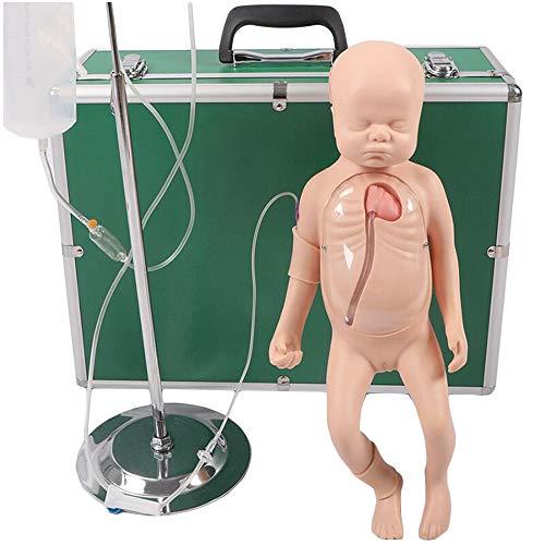 LUCKFY Neonatal periférica venosa Central canulación Modelo simulado clavícula Vena Humana del maniquí Modelo de la enseñanza ayudas a la formación para la Educación Médica