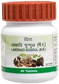 Patanjali Divya Lakshadi Guggul 20 gm - 40 Tablets (Pack of 2)