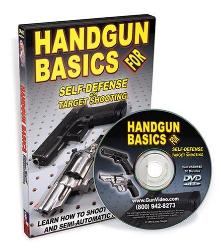 Handgun Basics for Self Defense & Target Shooting