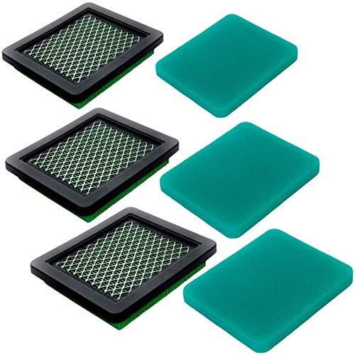 MAMINGGANG MmGang®. Fit für GCV160 GCV190 Luftfilter mit Vorreiniger - Fit für HON/DA 17211-ZL8-023 Fit für Husqvarna Rasenmäherluftreiniger