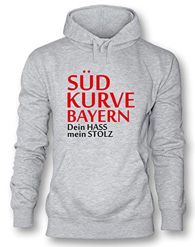 Angry Shirts Südkurve Bayern - Herren Hoodie in Größe XL