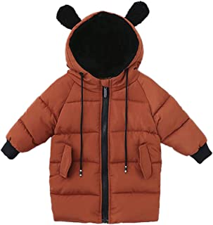 Glaiidy Abrigo con Capucha para Bebés Abrigo con Plumón Niños Bebés Niñas Abrigo con Capucha para Invierno Abrigo Chaqueta...