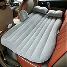 NAHIK FAB  CAR Bed Inflatable Car Air Mattress with Pump (Portable) Travel, Camping, Vacation | Back Seat Blow-Up Sleeping Pad (Multicolor)