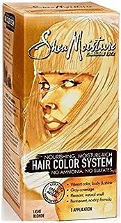 Shea Moisture Hair Color System, Light Blonde