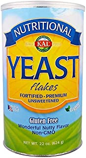 KAL, Nutritional Yeast Flakes, Unsweetened, 4Pack (22 oz (624 g))
