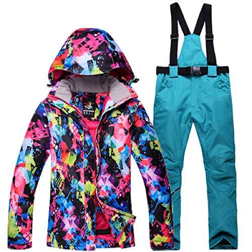 JSGJHXFFree Skipak voor dames, skipak of snowboard, voor skipak en trekkingbroek in de open lucht of voor camping