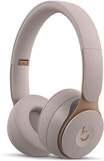 Beats Solo Pro Wireless Noise Cancelling On-Ear Headphones - Grey (Renewed)