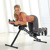 VITALmaxx 02678 Fitmaxx 5 Sportgerät, schwarz, Platzsparend und Klappbar, Für Krafttraining und Ausdauertraining