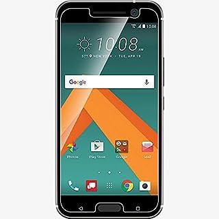 لاصقة حماية زجاجية واقية لشاشة اتش تي سي 10 - ام10 - شفاف HTC 10 - M10