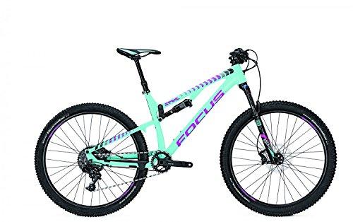 Mountainbike Focus Spine Evo Donna 11G SRAM GX 27,5' dames, framehoogte:48; kleur: aquablue