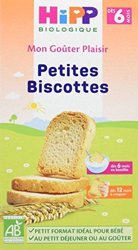 Hipp Biologique Petites Biscottes dès 6 mois BIO - 6 boîtes de 100 g