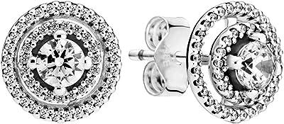 Pandora Orecchini womens Sterling Silver zirconia_cubica Altra forma - 299411C01