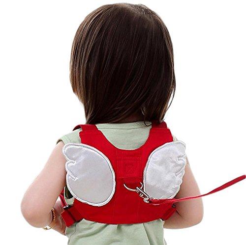 Laat–Mochila/arnés para niños de seguridad acolchada para llevar a su hijo con una cinta y que de esta manera no se caiga, con un diseño original de alas