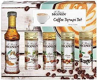 Monin Coffee Syrup Gift Set 5 x 5cl