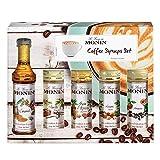 Monin - Speciality Coffee Syrup Set - 5 x 50ml...