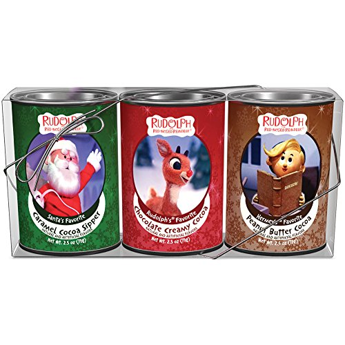McSteven's Rudolph Holiday Cocoa Gift Set 2.5 oz (Assortment of 3)