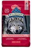 Blue Buffalo Wilderness High Protein Grain Free, Natural Adult Dry Dog Food, Salmon