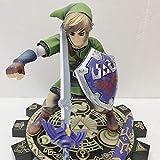 MIAOGOU Juguetes de Zelda Zelda Legend Anime Zelda Breath The Wild Master Sword Figura Skyward Link Figura de acción Juguetes de Modelos coleccionables Navidad