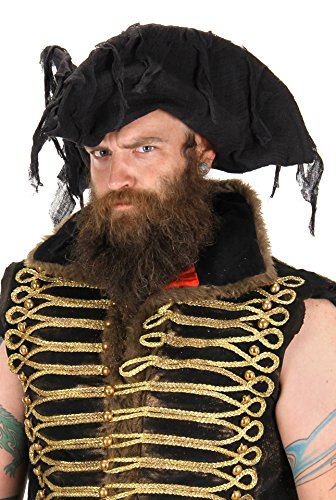 elope Adult Ghost Pirate Hat
