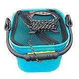 TOOGOO Secchio d'acqua in EVA da 20 CM con secchio pieghevole in corda per campeggio / pes...