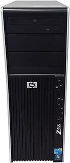 HP Z400 Workstation 3.20GHz Intel Xeon Quad-Core W3565  8GB RAM 500GB HDD FX1800 Win 7 Pro No Media Disc