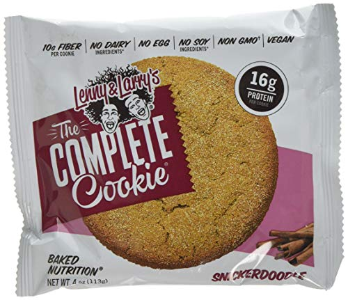 Lenny & Larry's Complete Cookie, Snickerdoodle,12-Count