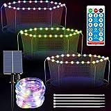 APCHY Trampolin-Lichter, Fernbedienung, LED-Solar-Lichterkette für 1,5 m, 1,8 m, 2,4 m, 3,6 m, 3,6 m, 4,6 m, 4,6 m, 4,8 m, 4,6 m, 4,6 m, 4,6 m