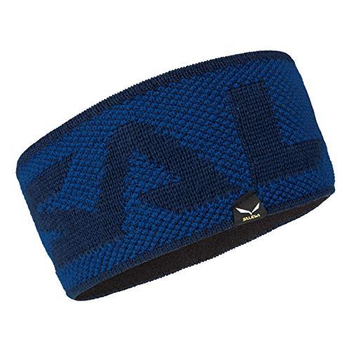 Salewa Puez Alphubel Wool Headband Blau, Kopfbedeckung, Größe One Size - Farbe True Blue