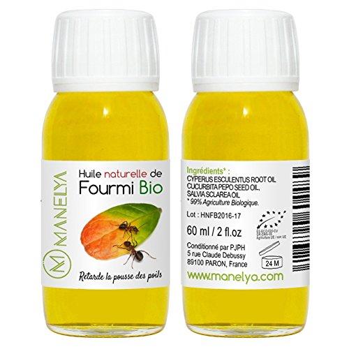 manelay Huile de Fourmis Stop Poil 60 ml