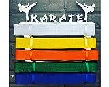 Runners - Cinturón de karate para pared
