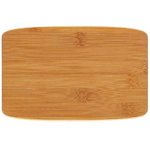 kela 11870 Planche à découper Katana 23x15cm en Bambou, Beige, 23 x 15 x 1,2 cm