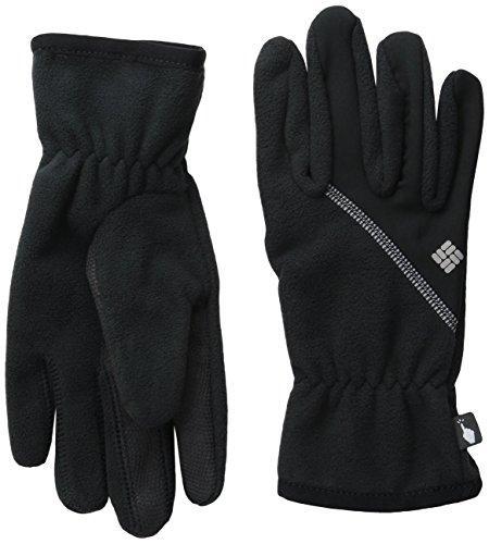 Columbia Women's Wind Bloc Gloves, Black, Medium