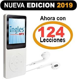 Curso de INGLES MP3, Aprende ingles en 3 Meses, CURSO DE INGLES (Incluye reproductor mp3 compacto con 124 Lecciones + Libro Guía)