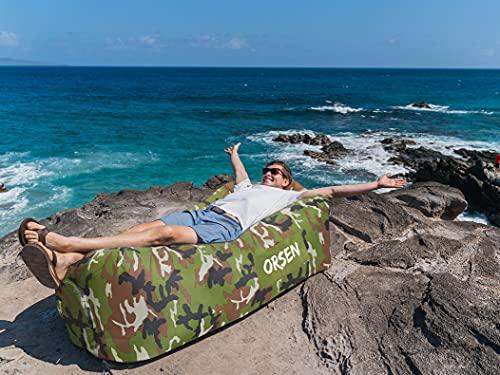 ORSEN Luft Couch, wasserdichtes aufblasbares Sofa Erfahrungen & Preisvergleich