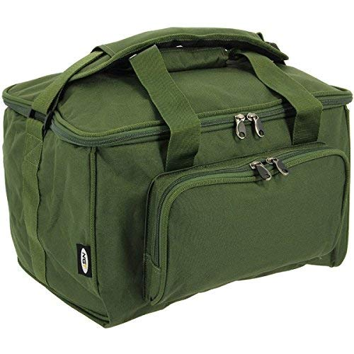 NGT Carp Fishing Quick Fish 3 Rod Holdall for 12 Foot Rods and Tackle Carryall Bag Set