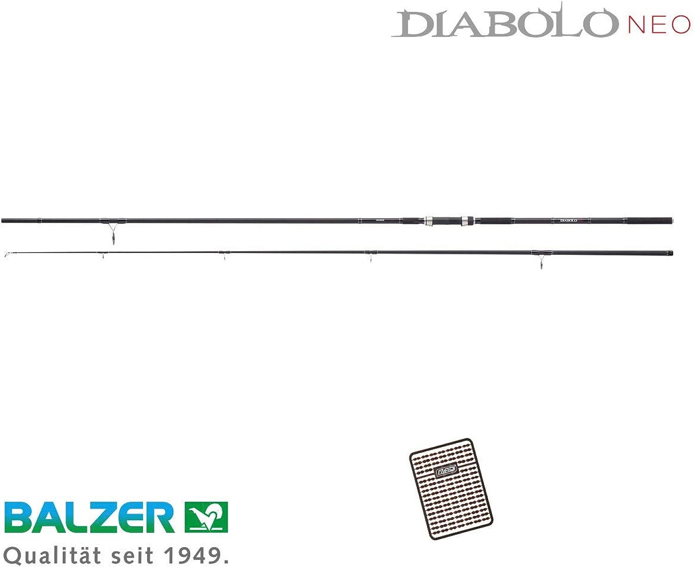 Balzer Diabolo NEO Carp - 3,90 m   3,50 lbs Karpfenrute + Boiliestopper gratis