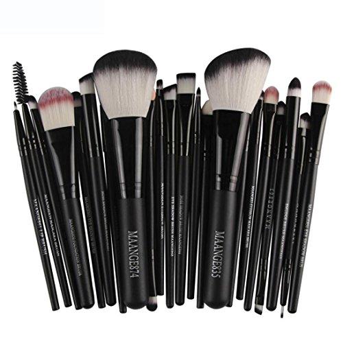 Make-up-Pinsel-Set für Lidschatten, Foundation, 22-teilig