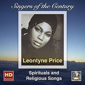 Singers of the Century: Leontyne Price – Spiritual and Religious Songs (Remasterd 2016)