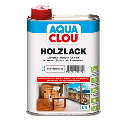 Clou Holzlack L11 seidenglänzend 0,250 L