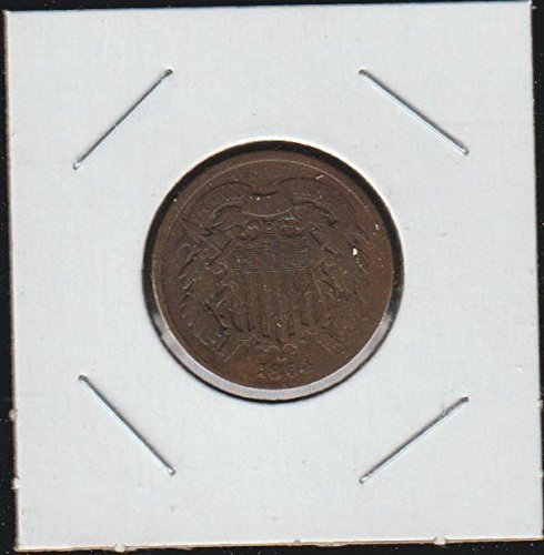 1864 Shield Two Cent (1864-1873) Two-Cent Choice Fine Details